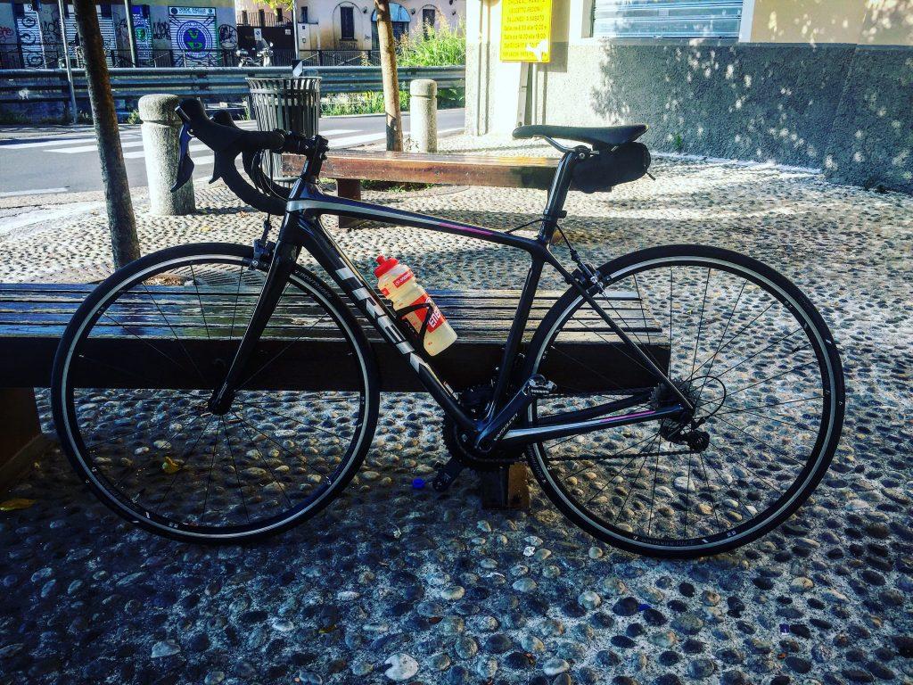Lei, la mia piccola mi attende! Grazie Milano Cycling e Trek!