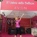 Avon Running, stand Avon