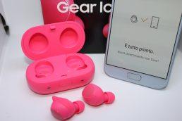 Gli auricolari Gear Icon X di Samsung