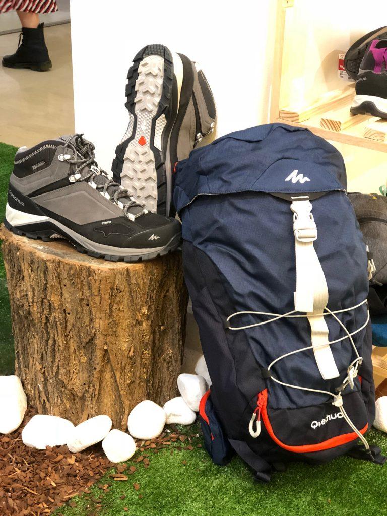 attrezzatura Decathlon trekking Quechua