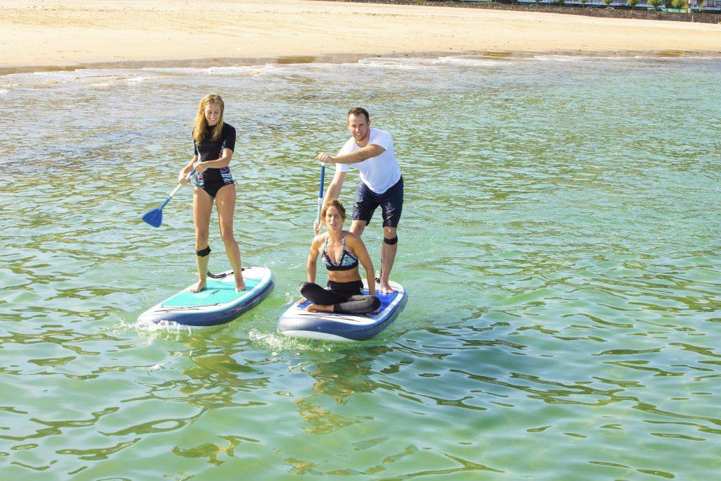 Stand Up Paddle ambientati nel mare, foto posata di Decathlon
