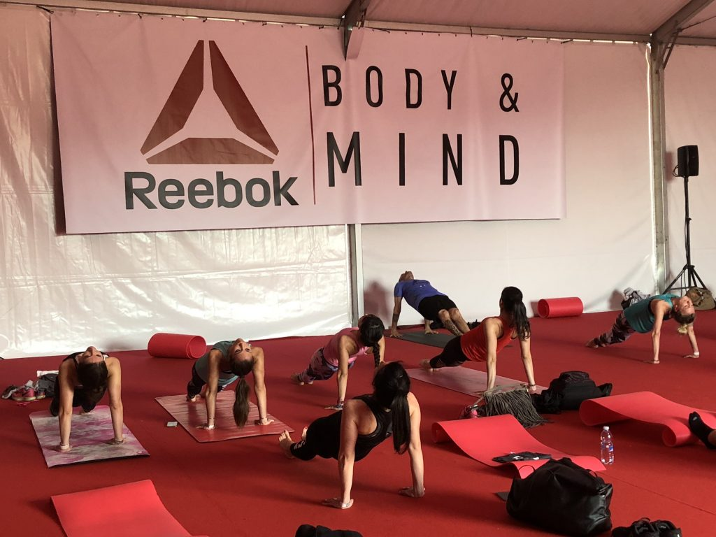 Reebok Training Experience