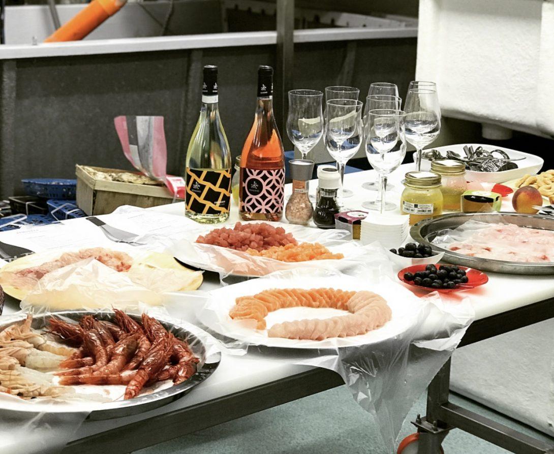 consegna di pesce fresco a Milano