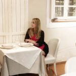 Cascina Caremma le sale interne dove si cena