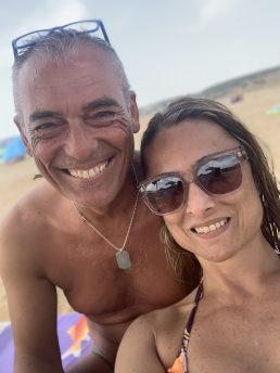 Daniela Schicchi con occhiali Maui Jim, agosto 2019